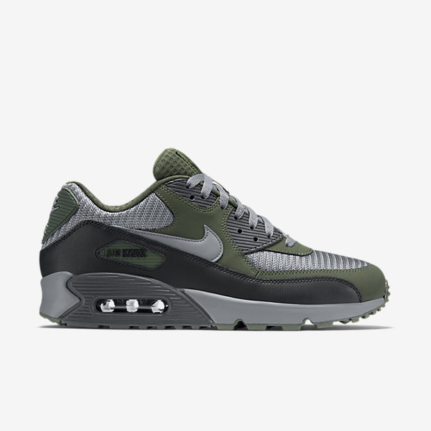 Nike Air Max 90 Essential (Cool Grey Cool Grey Black Carbon Green)