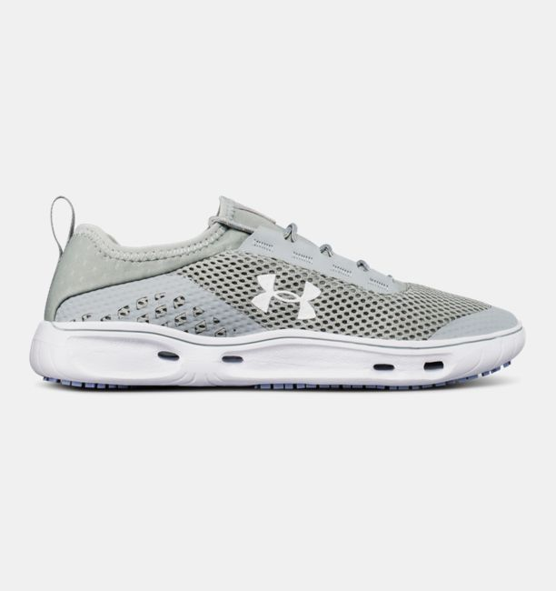 UA Kilchis Gunpowder Green / White