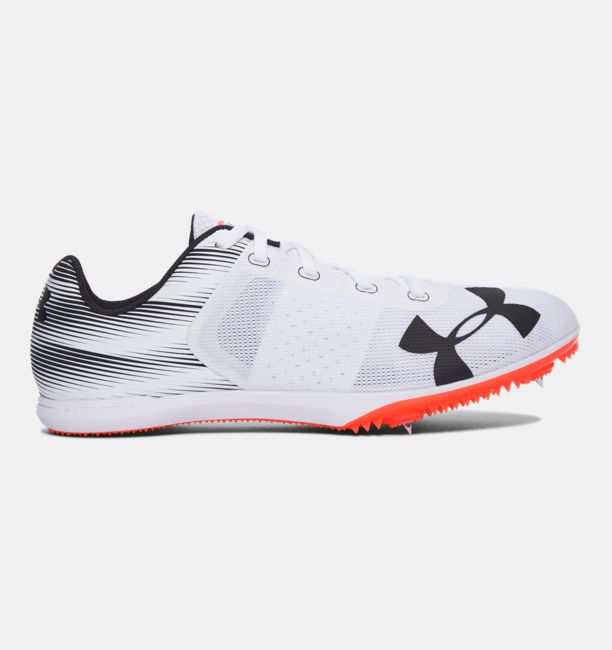 UA Kick Distance Spike White / Phoenix Fire