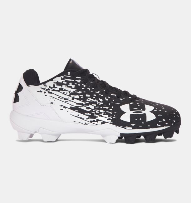 UA Leadoff Low RM Black / White