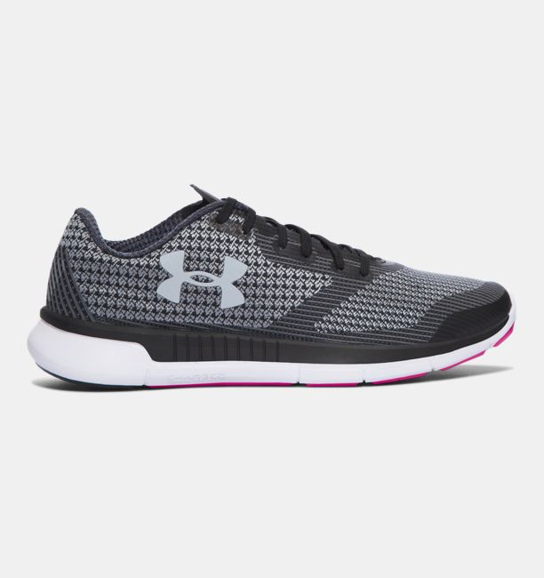 UA Charged Lightning Black / White