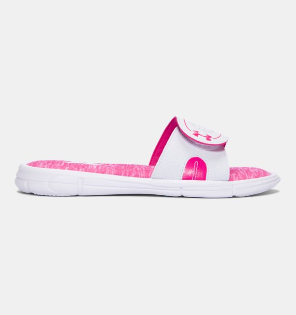 UA Ignite Power In Pink® VIII White / Tropic Pink