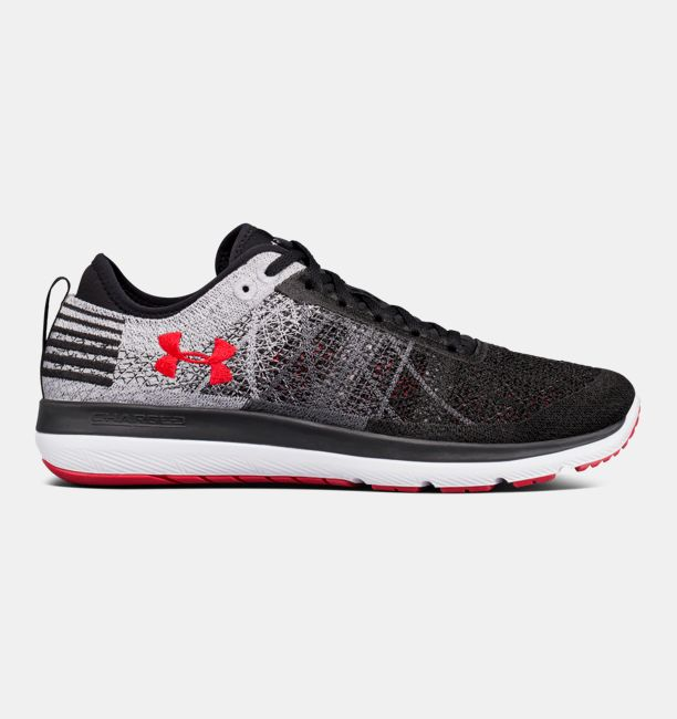 UA Threadborne Fortis 3 Black / Red
