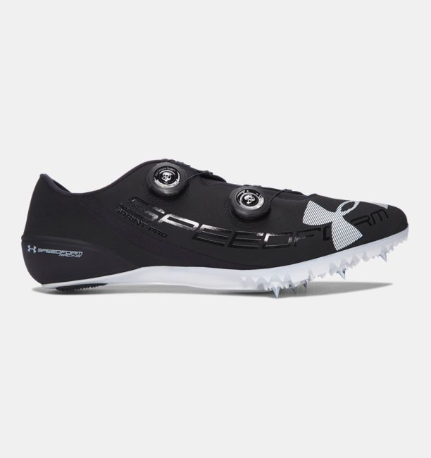 UA SpeedForm® Sprint Elite — Jesse Owens Edition Black / White