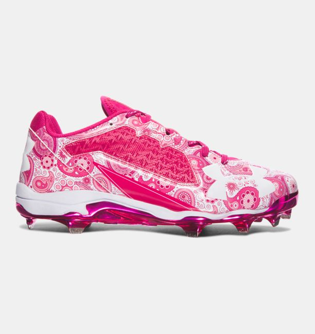 UA Mother's Day Edition DiamondTips Tropic Pink / White