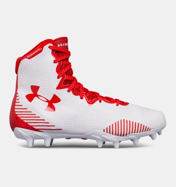 UA Highlight Molded White / Red