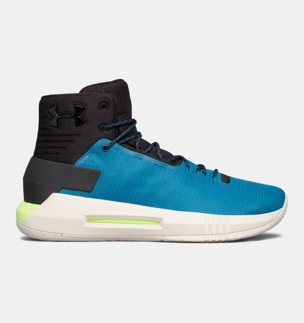 UA Drive 4 Black / Bayou Blue