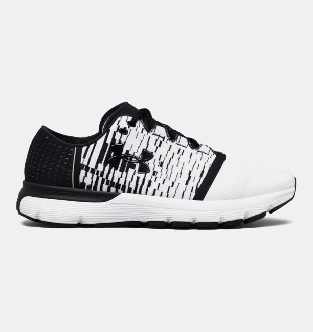 UA SpeedForm® Gemini 3 Graphic – 4E White / Black