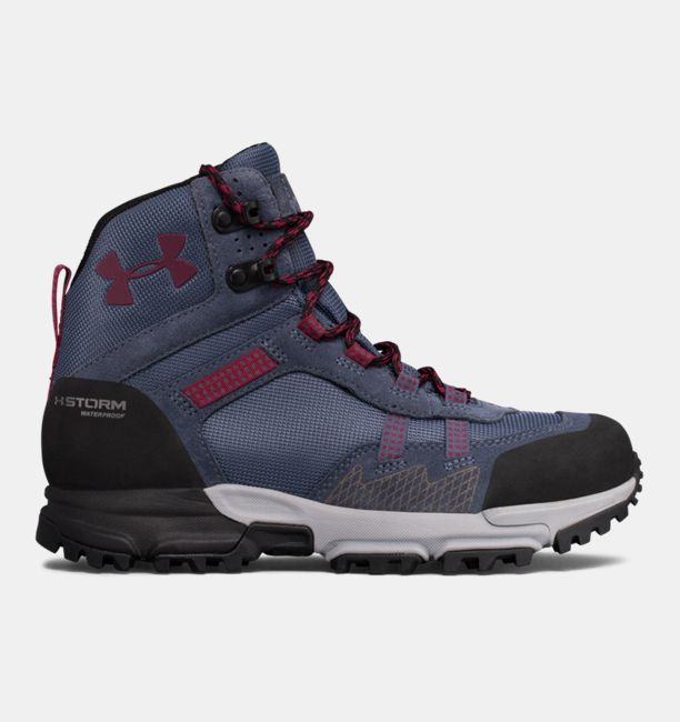 UA Post Canyon Mid Waterproof Apollo Gray / Overcast Gray