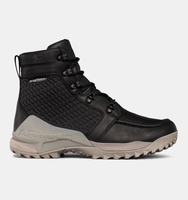 UA Field Ops GORE-TEX® Black / Autumn Tan