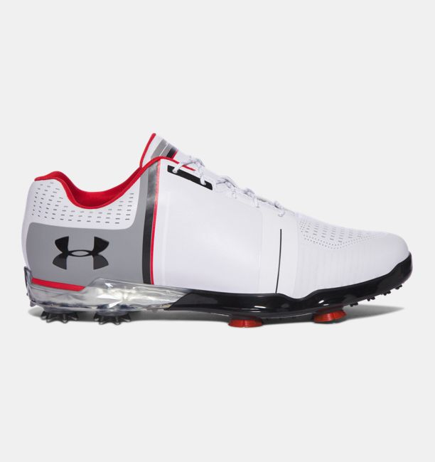 UA Spieth One — Wide White / Black