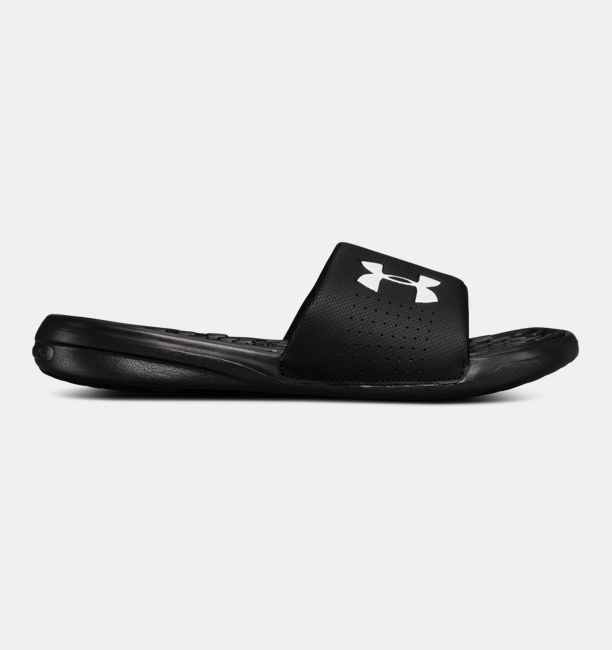 UA Playmaker Fixed Strap Black / White