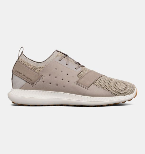 UA Threadborne Shift Heathered Autumn Tan / Ivory