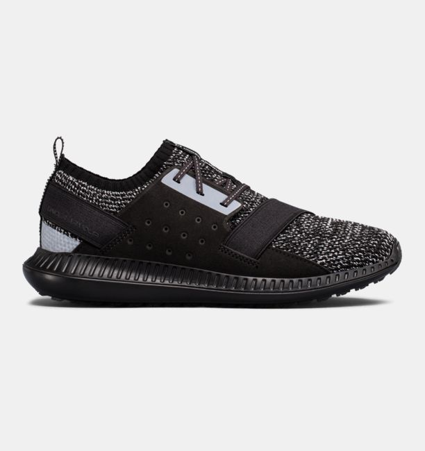 UA Threadborne Shift Heathered Black / White