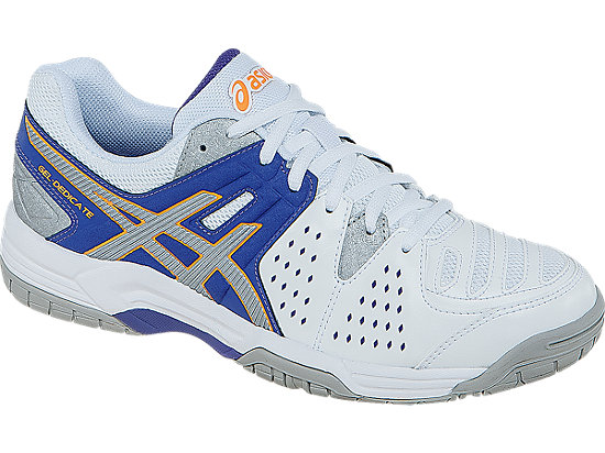 Asics Womens Tennis Shoes GEL Dedicate 4 LavenderSilver