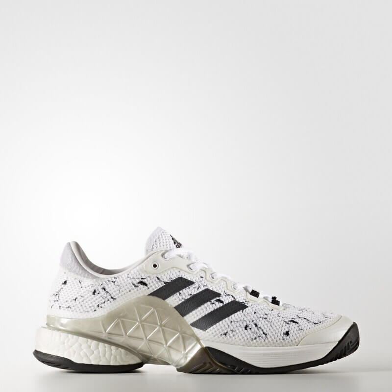 adidas Barricade 2017 Boost Shoes White