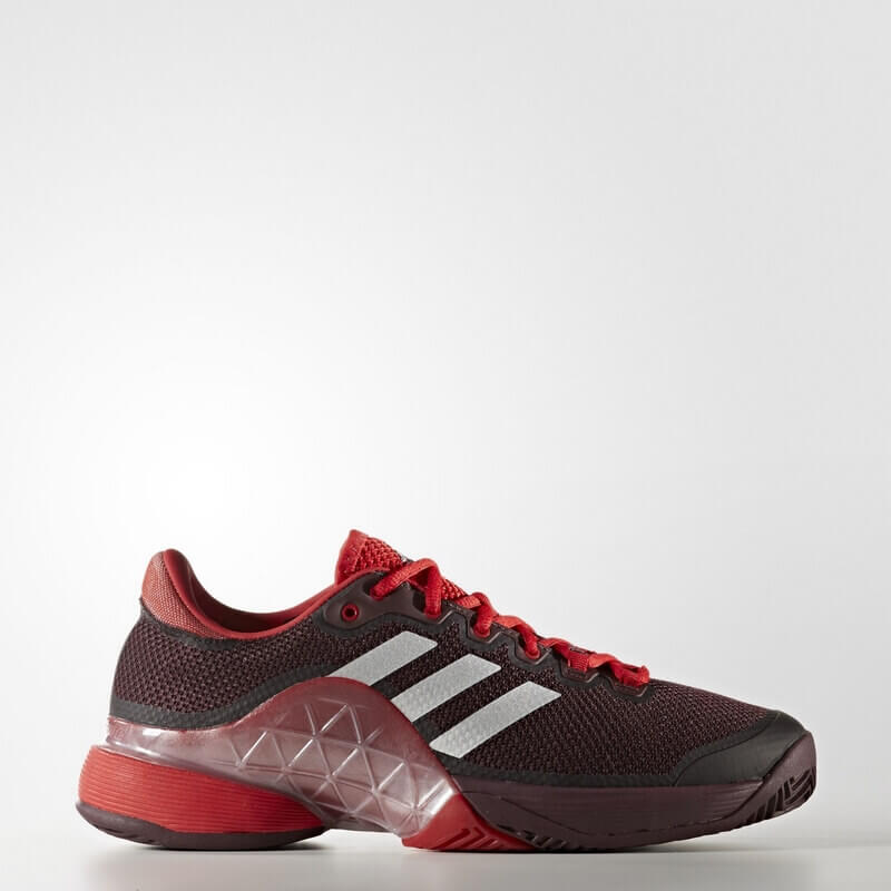 adidas Barricade 2017 Shoes Red