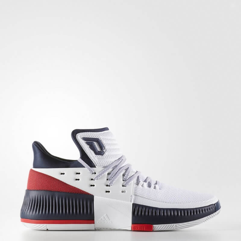adidas Dame 3 Shoes White