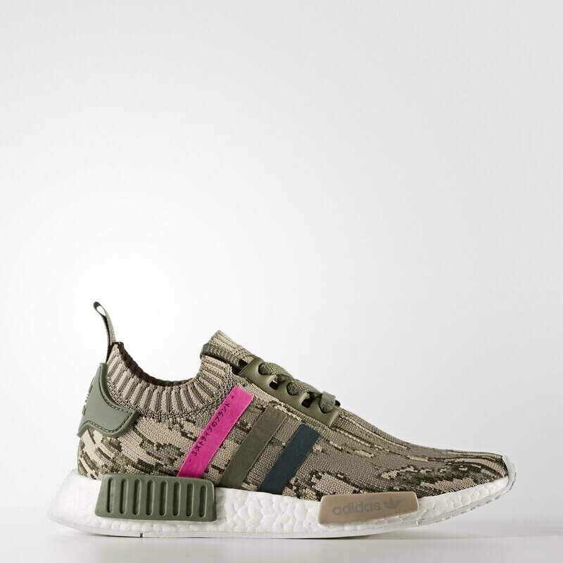 adidas NMD_R1 Primeknit Shoes Green
