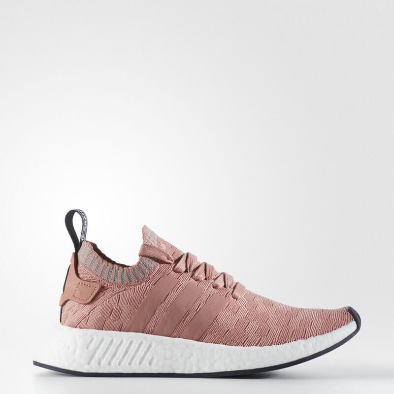 adidas NMD_R2 Primeknit Shoes Pink