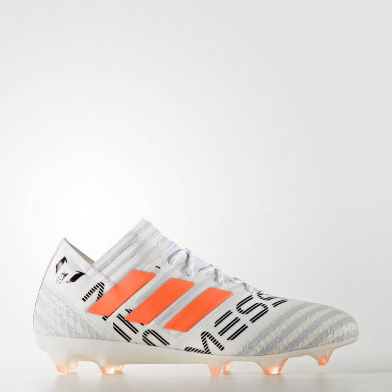 adidas Nemeziz 17.1 Firm Ground Cleats White