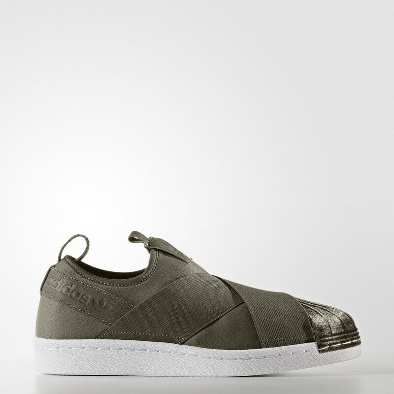 adidas Superstar Slip-on Shoes Green