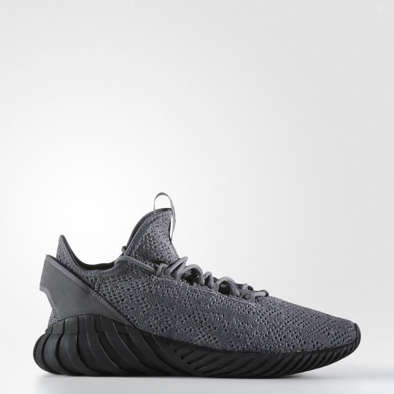 adidas Tubular Doom Sock Primeknit Shoes Grey