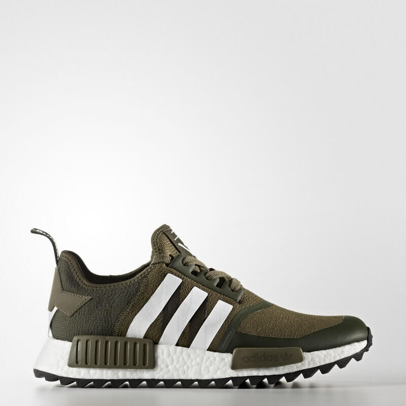 adidas White Mountaineering NMD_R1 Trail Primeknit Shoes Green