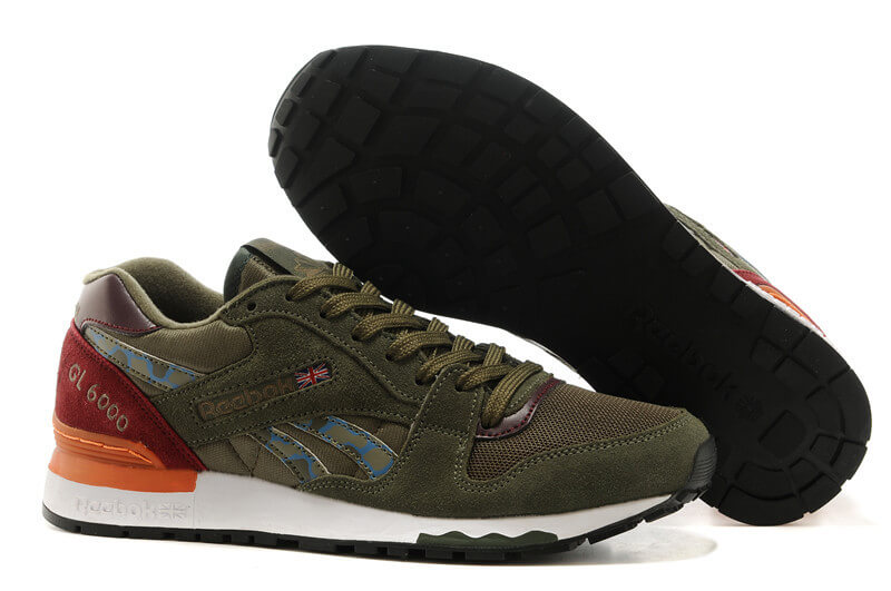 Reebok GL 6000 ATHLETIC Brown/Orange