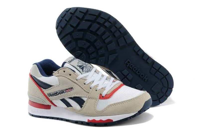 Reebok GL 6000 ATHLETIC White/Grey/Red