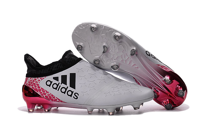 2f7256bf8 ... mens adidas x 16+ purechaos firm ground cleats white black pink