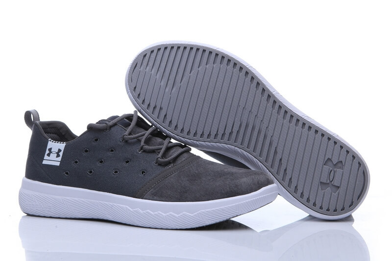 UA Charged 24/7 Low Leather Grey