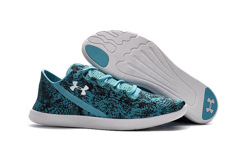 UA SpeedForm® StudioLux™ Blue/Black White Women