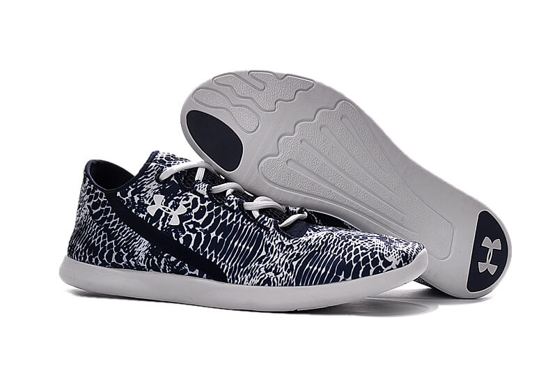UA SpeedForm® StudioLux™ Navy/White