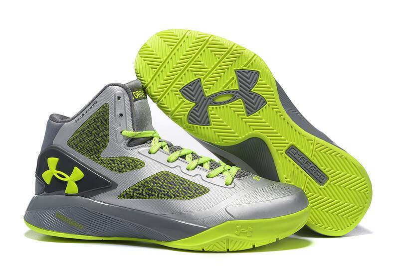 best service ed0f5 1de59 UA ClutchFit™ Drive II Basketball Shoes Sliver Grey
