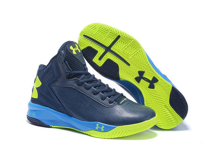 brand new 637b4 d37dc UA Rocket Shoes Navy Blue