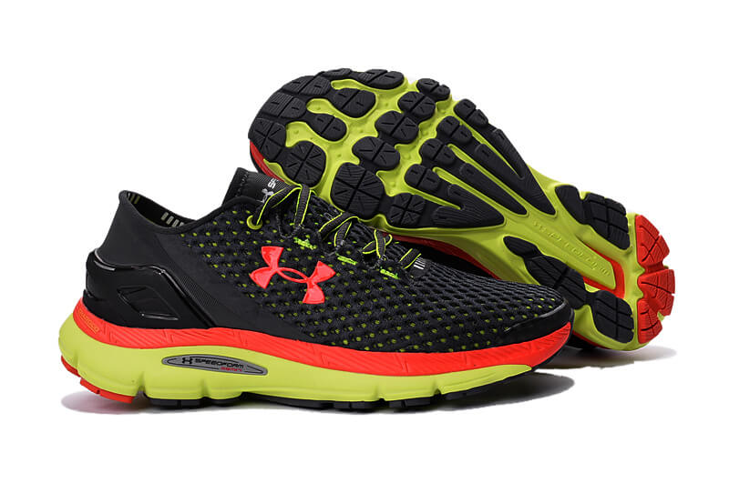 UA SpeedForm® Gemini 2 Black Green/Red