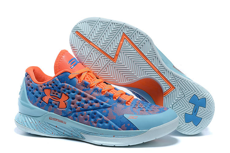 UA Curry One Low Basketball Shoes Easter