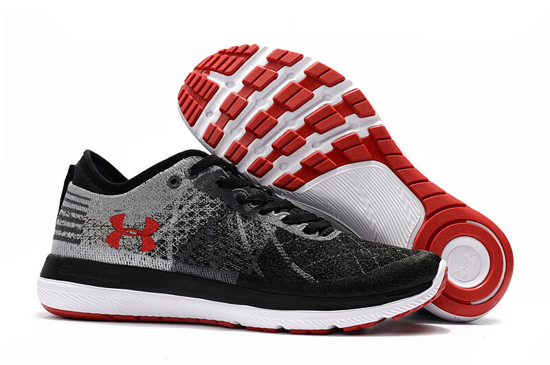 Men's UA Threadborne Fortis 3 Black/Red