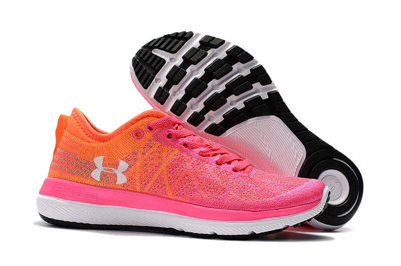 Women's UA Threadborne Fortis 3 Penta Pink / Magma Orange