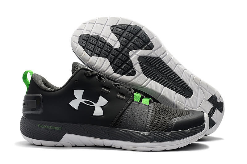 Men's UA Commit Black/Green