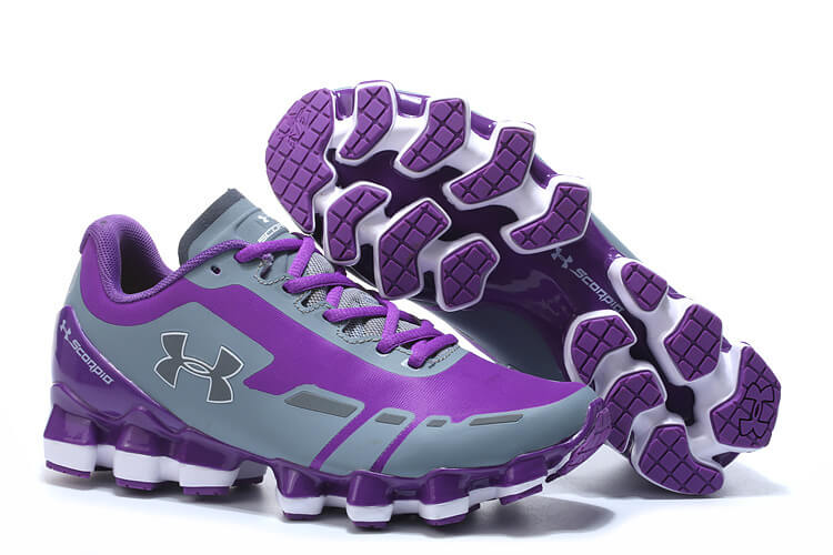 UA Scorpio Purple/Grey White Women
