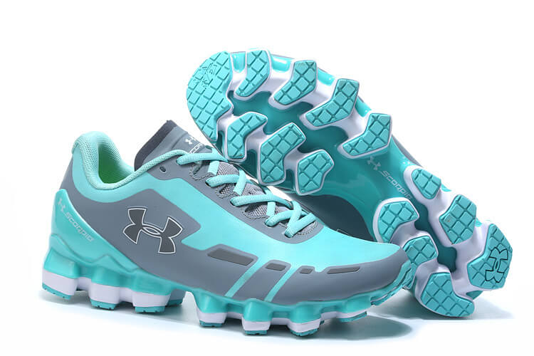UA Scorpio Light blue/Grey White Women