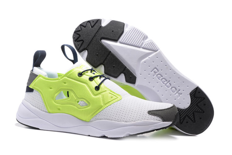 Reebok FURYLITE White/SolarYellow/Shark/Black/Collegiate Navy