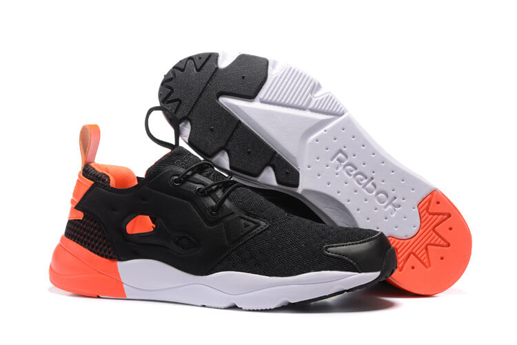Reebok FURYLITE POP Black/Atomic Red/White